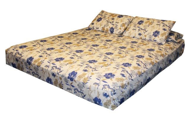 ملاية سرير مطبوعة