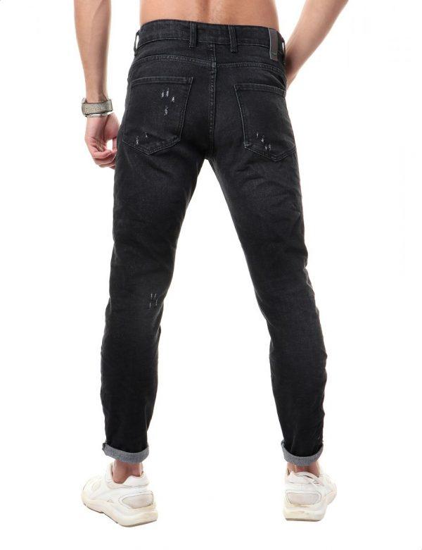 بنطلون جينز رجالي اسود