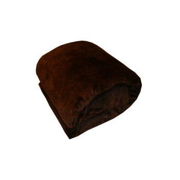 دفاية سرير لون بني