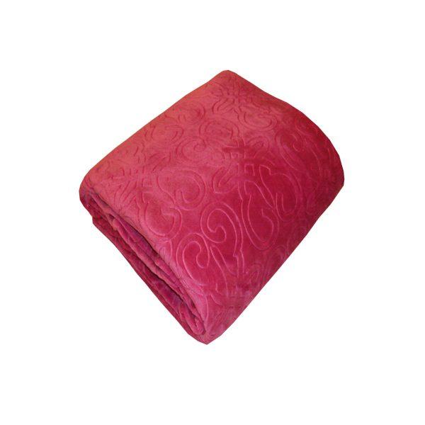 دفاية سرير لون فوشيا