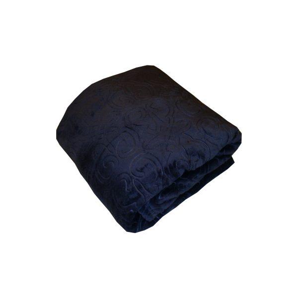 دفاية سرير لون كحلي