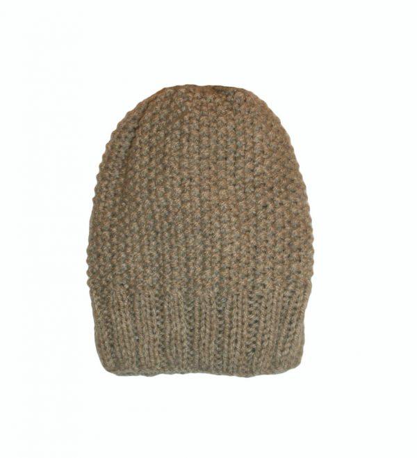 قبعة صوفية لون بيج