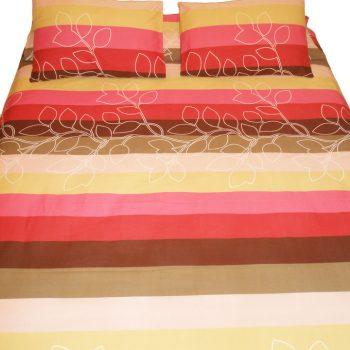 ملاية سرير الوان مخططة1
