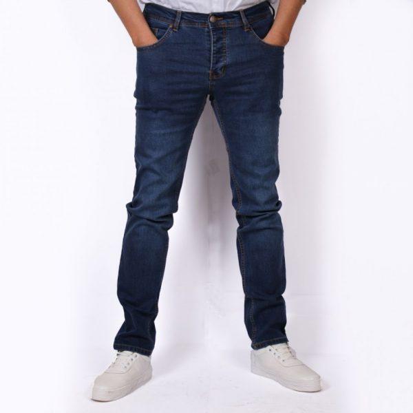 بنطلون جينز ازرق غامق